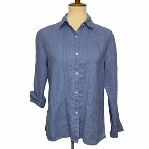 Kate Hill Button Up Collared Blouse